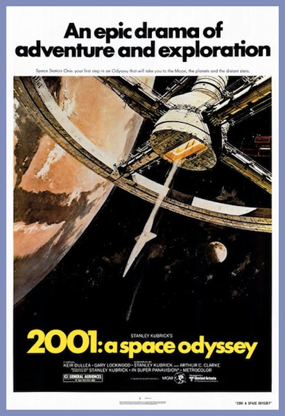 McCall 2001 Space Odyssey poster
